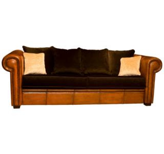 Leren Bank Schapenleer.Home Lounge Atelier